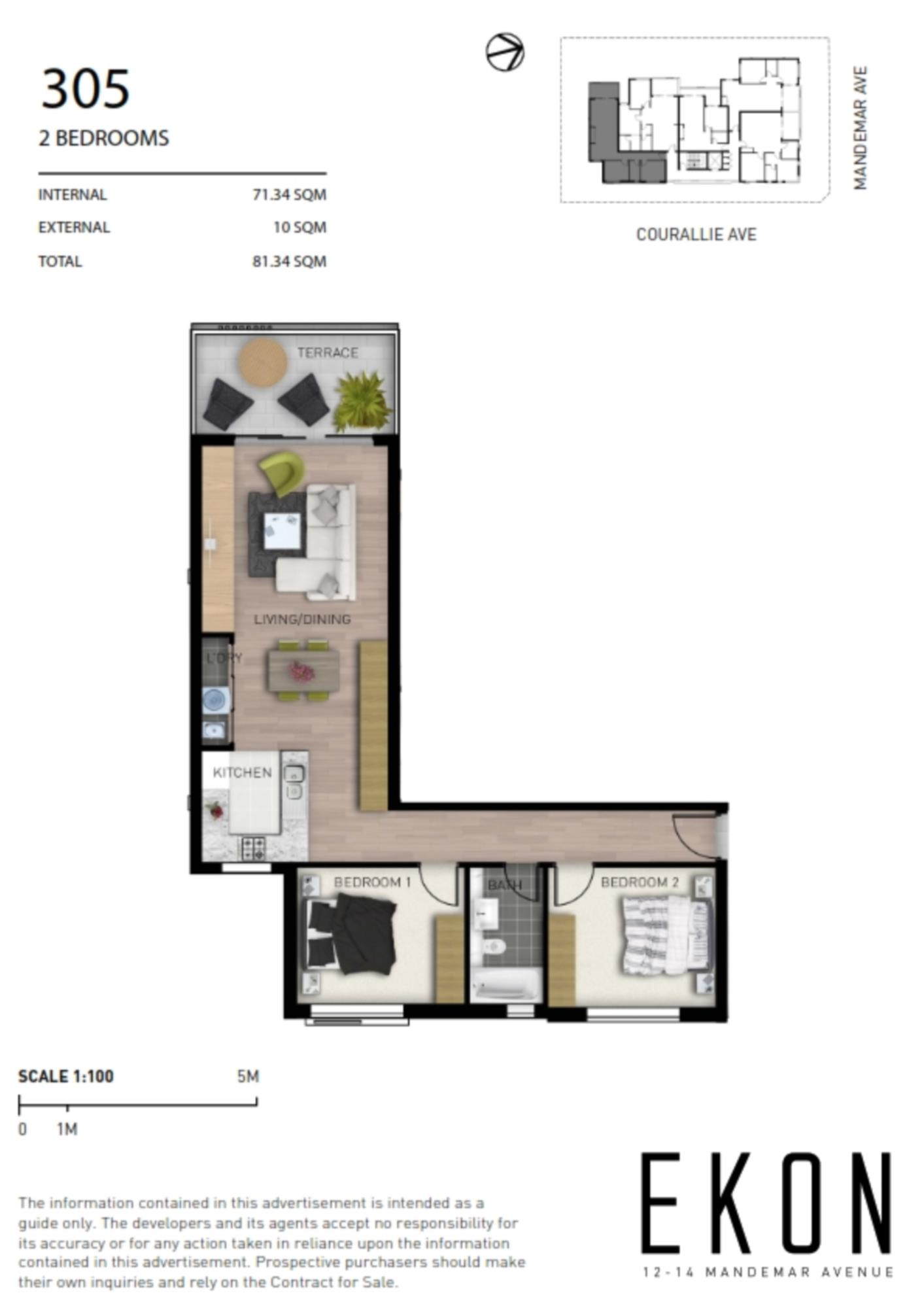 305/12-14 Mandemar Avenue HOMEBUSH WEST, NSW 2140