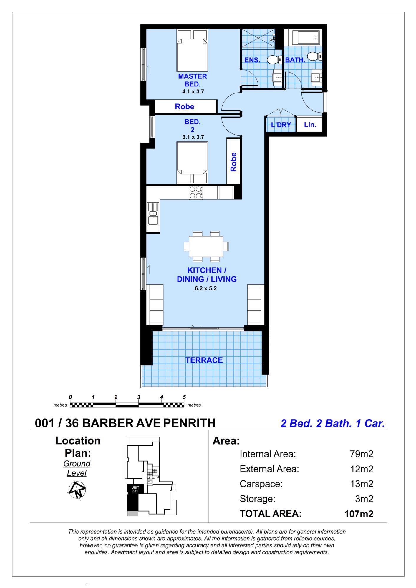 001/36  Barber Avenue PENRITH, NSW 2750