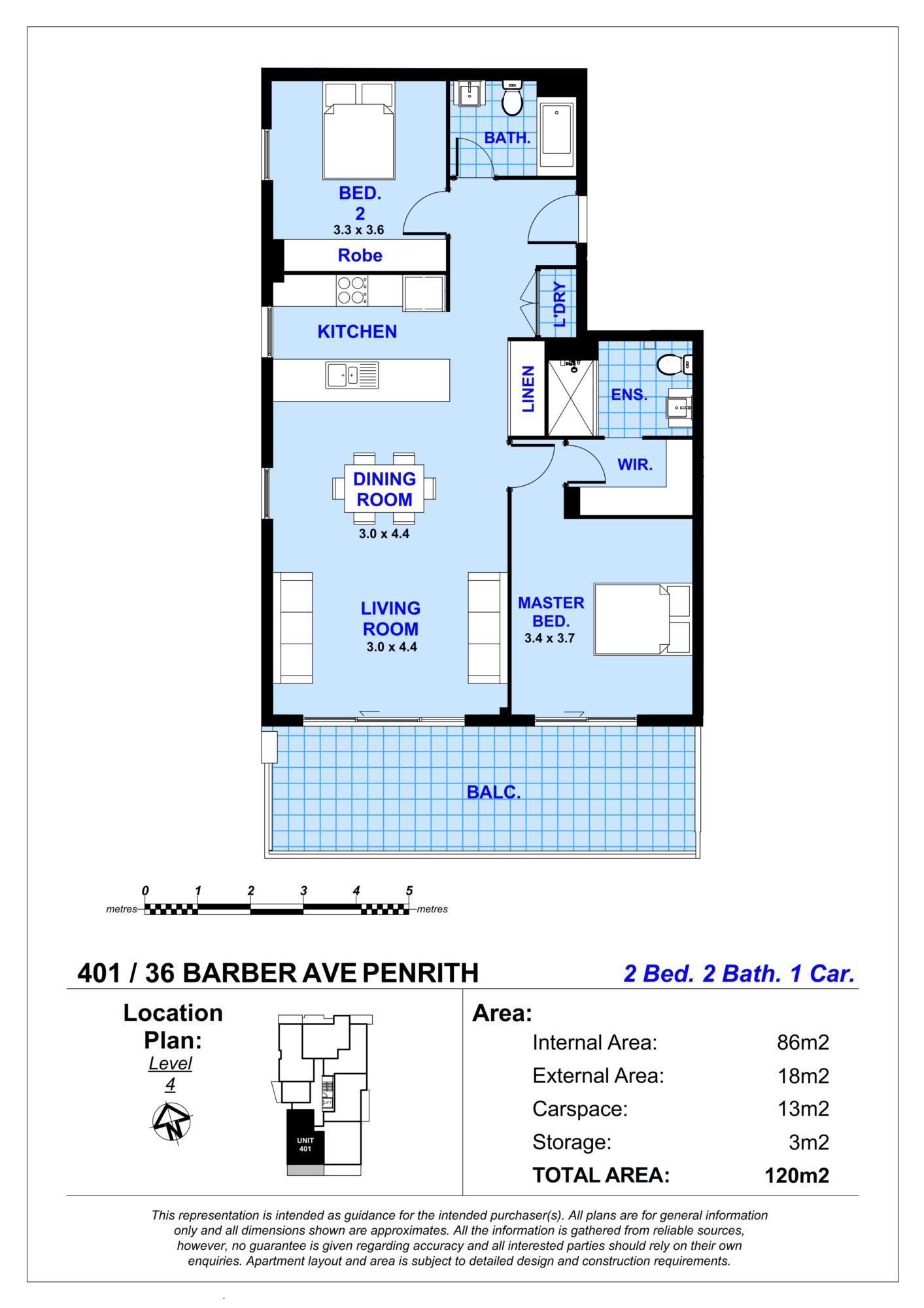 401/36 Barber Avenue PENRITH, NSW 2750